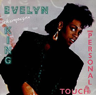 EVELYN CHAMPAGNE KING 1985 {your personal touch} 7 inch
