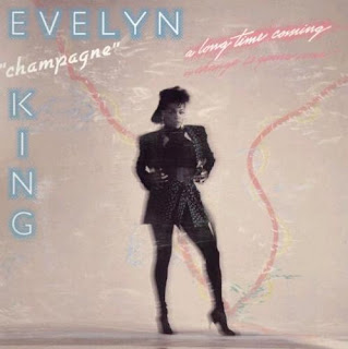 EVELYN CHAMPAGNE KING 1985 {a long time coming }
