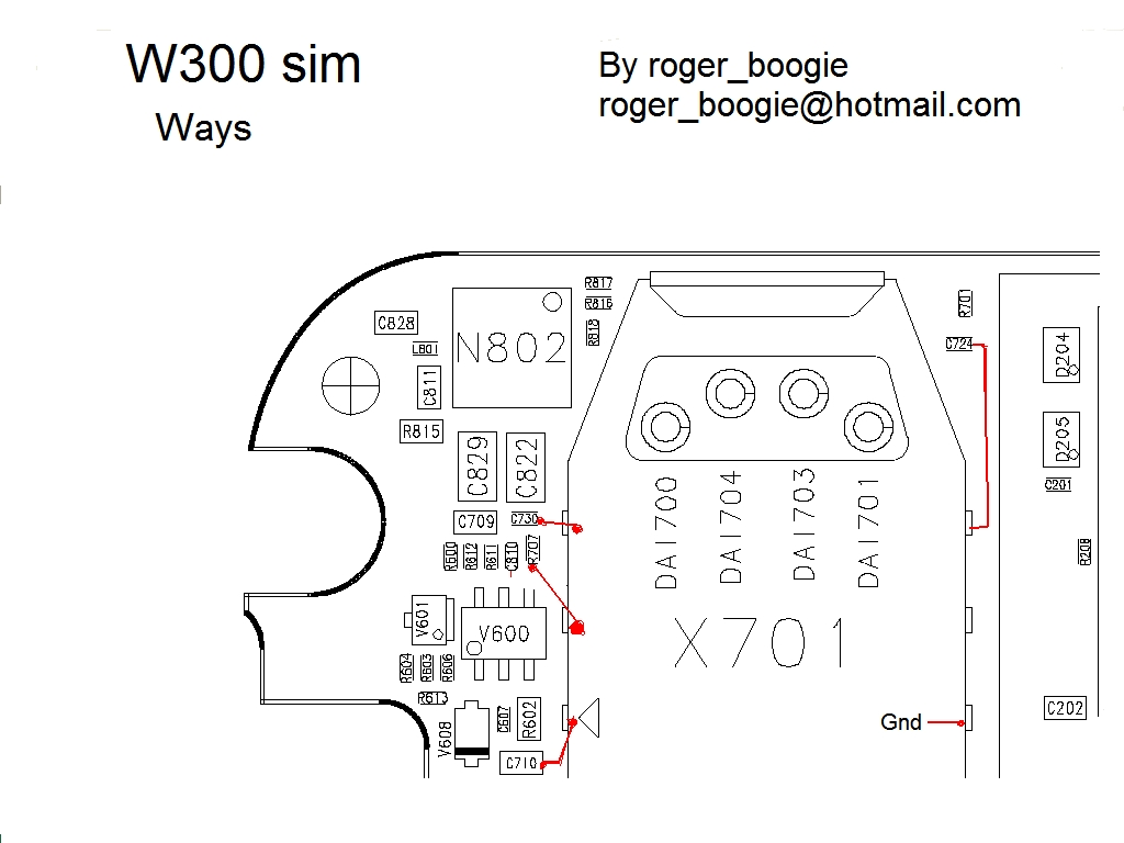 W300 Sim Ways on Nokia 1202 Charging Solution