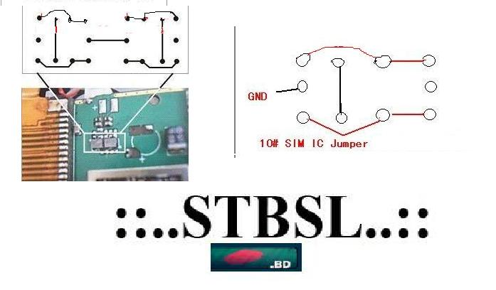 Dual Sim IC Repair. Dual Sim IC Ways and Jumper
