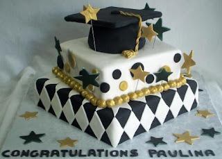 Unique Graduation Cake