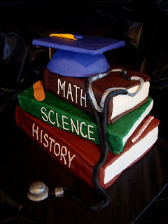 Perfect Fondant Graduation Cake