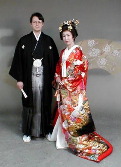Japanese brides japanese clothes