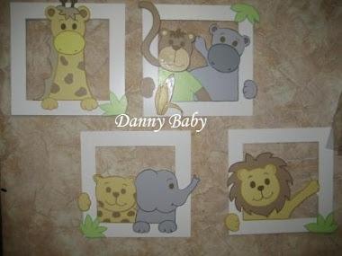 quadros tema zoo