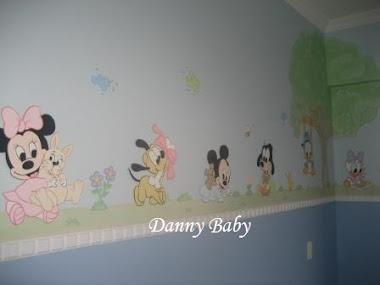 decoração de bebê tema disney baby
