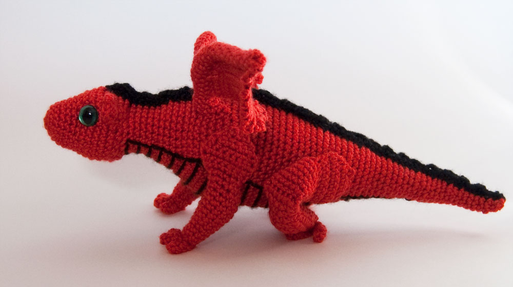 Amigurumi Baby Dragon : More dragons to crochet u free patterns u grandmother s pattern book
