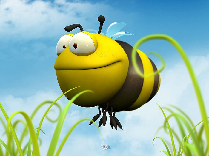 wallpaper lucu. 3d animation wallpaper