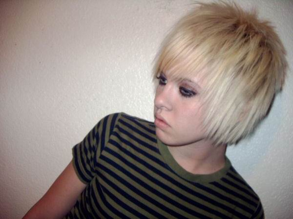 Emo Cute Short Haircuts