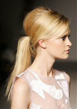 Bouffant Ponytail - Hairstyles 2008