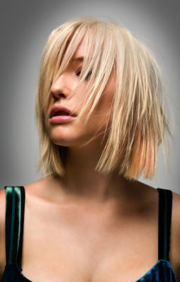 latest new short blonde hair style 2009 -http://myhaircuts.blogspot.com
