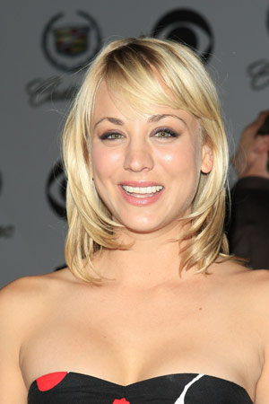 This hairstyle suits short to mid–length hair. Long bangs can soften a high