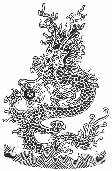 cool  Chinese Dragon Tattoo designs pictures