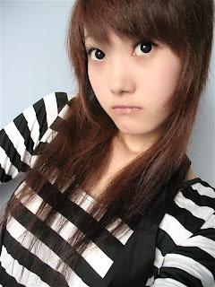 cute Asian girl hair style