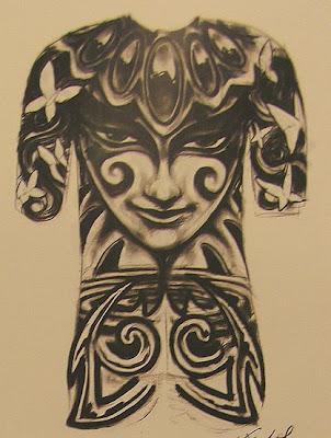 full back tattoos. Full Back Tattoos Designs