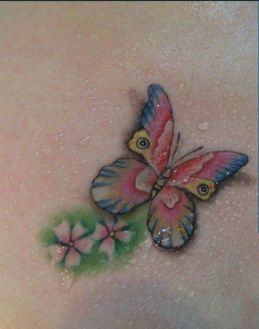 Labels: 3D Butterfly Tattoo