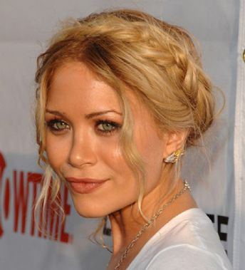 mary kate and ashley olll hairstyles. Mary-Kate Olll Braids hairstyle