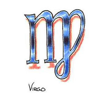 Virgo Tattoos Designs
