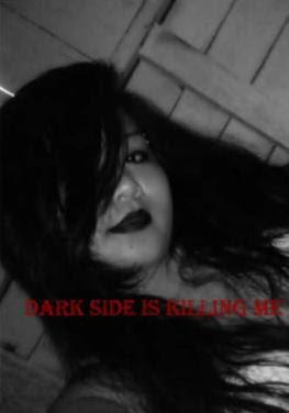 emo gothic girl