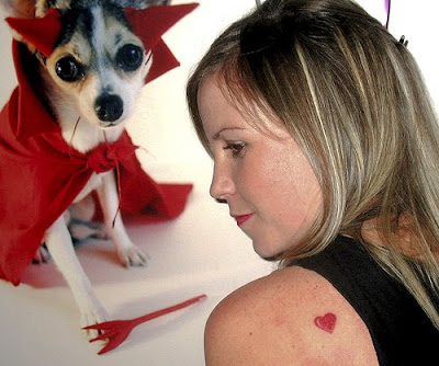 Heart and star tattoos are the most popular tattoos in the girls.