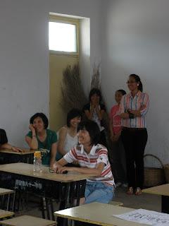 Volunteers in the Children's Village