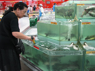 One of China's grocery stores
