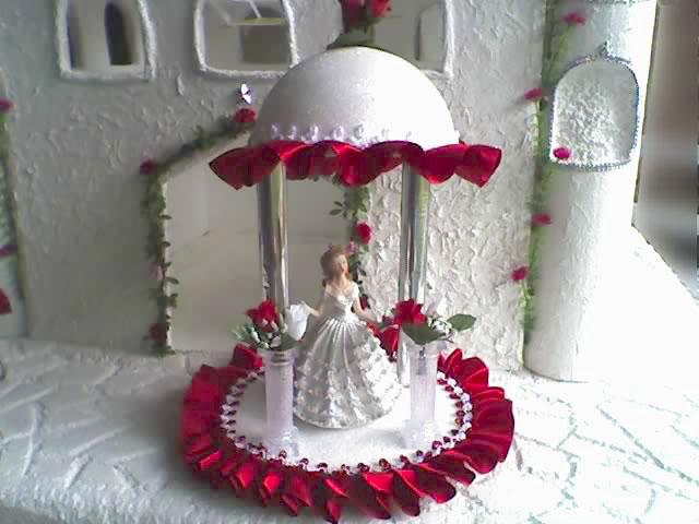Sarita Sourvenirs: centro de mesa - muñeca