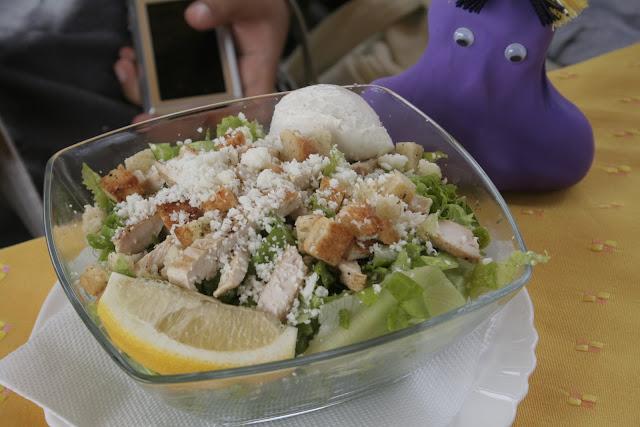 Articole culinare : Salata simpla si gustoasa de pui
