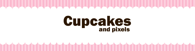 Cupcakes and pixels