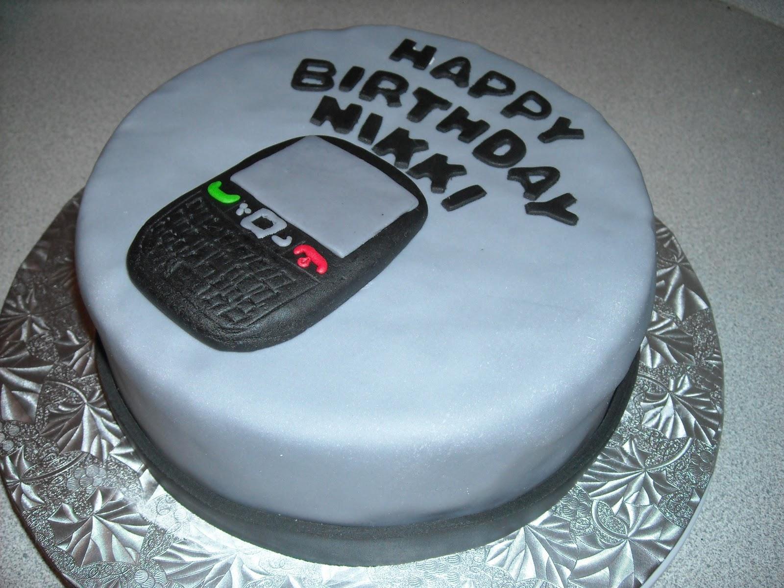 Cup O Cake: Blackberry Birthday Cake - Nikki