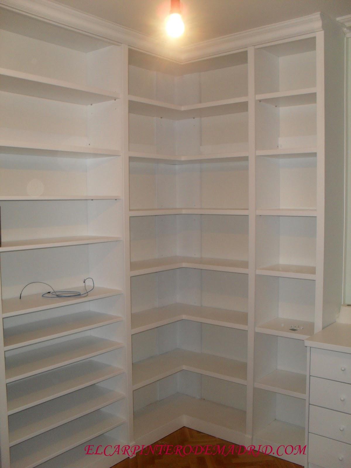 El carpintero de madrid 617075183 librerias armarios - Librerias a medida en madrid ...