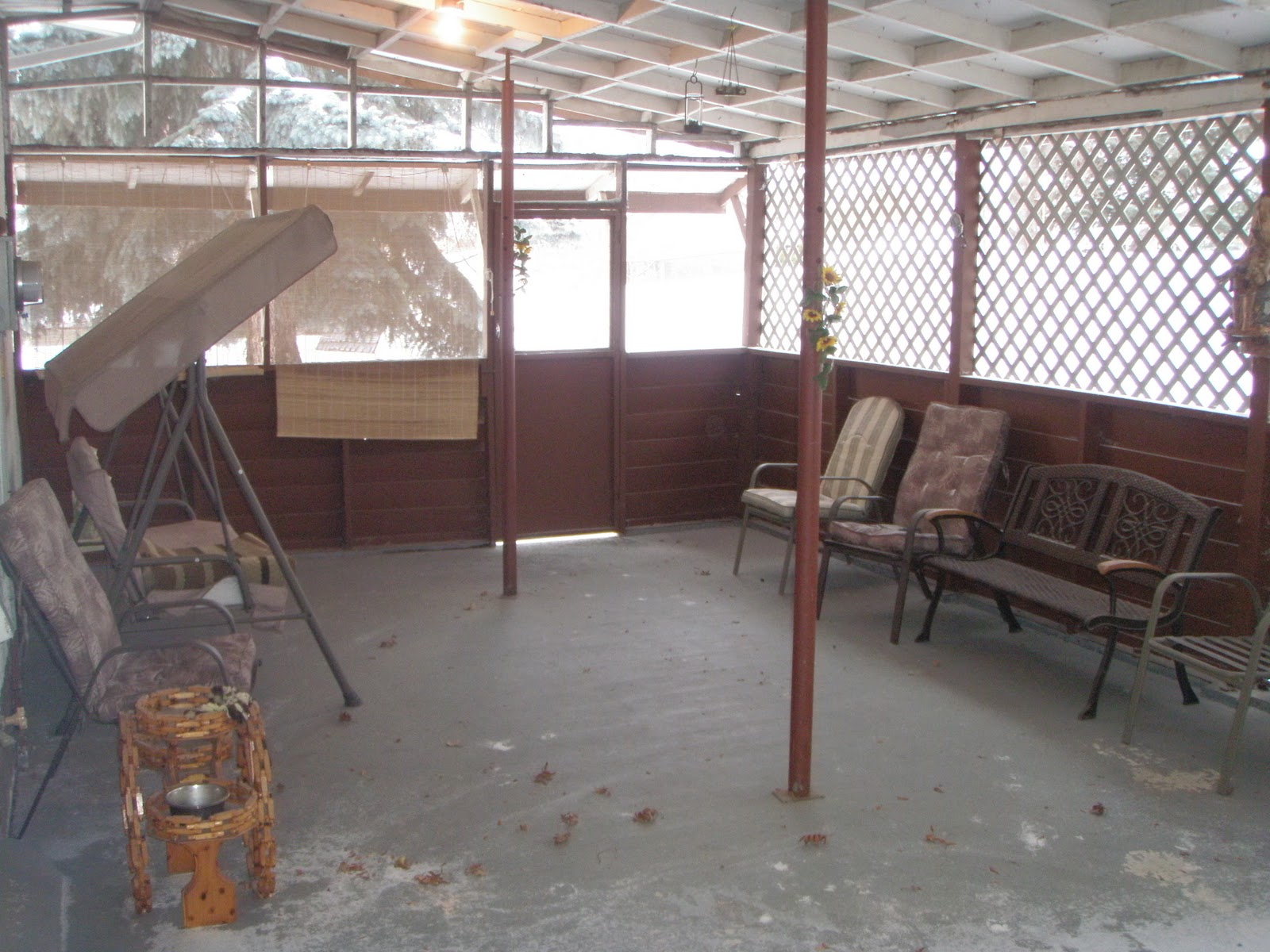 Enclosed Patio Porches Design Pictures