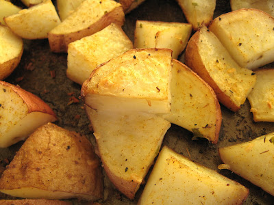 Playing With My Food: Oven-roasted Red Potatoes