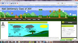 Noel Elementary's class blog