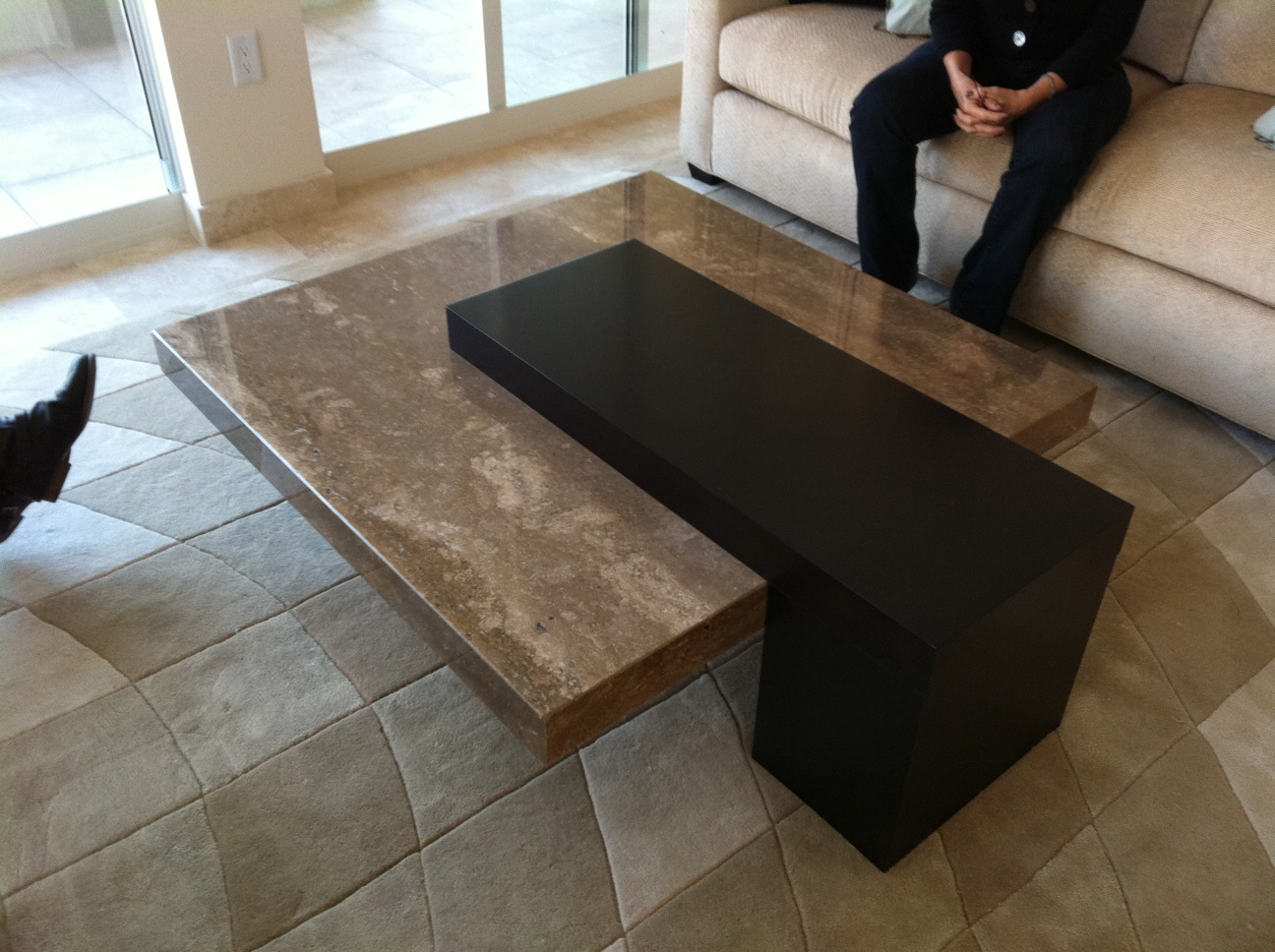 Modern coffee tables for sale Granite coffee table