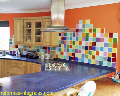 Reforma cocina colores cocina modernista barcelona - Cocinas barcelona ...
