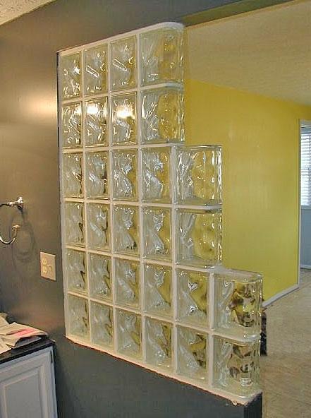 Interiorismo barcelona muros divisorios habitaciones - Ladrillo de cristal ...
