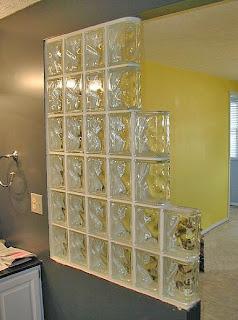 Interiorismo barcelona muros divisorios habitaciones ladrillo de vidrio - Ladrillos de cristal ...