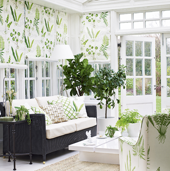 Stilig hjem fantastiske vinterhager for Sunroom garden room