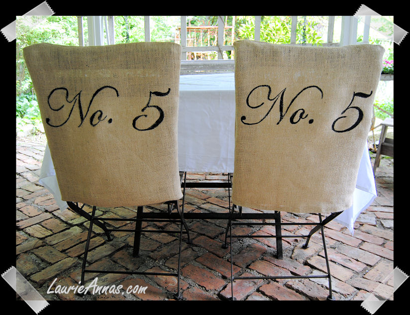 Chair Covers   Make Your Own Tutorial