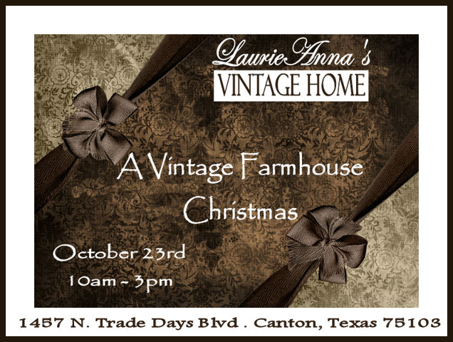 we will lock the doors drape the windows and spend the next 3 weeks transforming the shoppe with our beautiful vintage inspired holiday decor