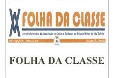 FOLHA DA CLASSE