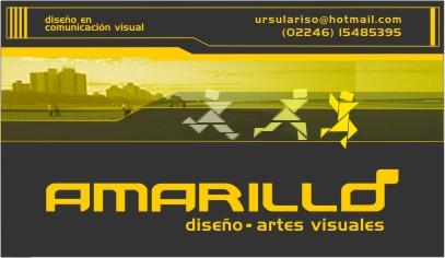 Amarillo.Diseño + artes visuales
