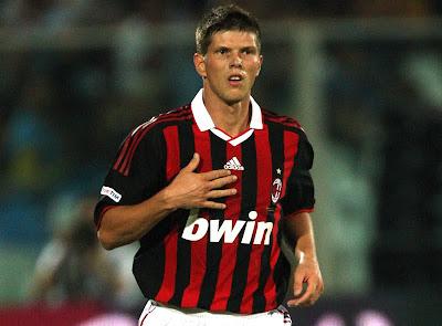 Klas Jaan Huntelaar AC Milan