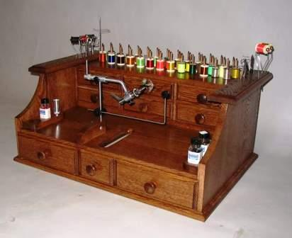 The Workbench Where I Tie Flies And Do Other Small Jobs Is Completely  Buried Under Clutter. In A Perfect World, I Would Have This: