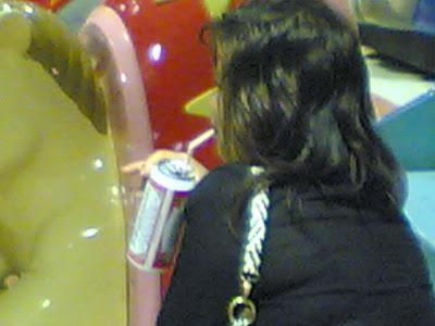 Marché de nuit de Shilin - Bière à la paille