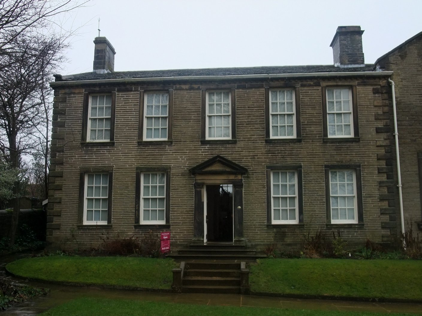 The Parsonage from the gardens