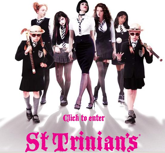 St. Trinian's. Very funny English boarding school movie, with some really ...