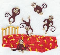 Please, stop the Monkeys from jumpin' on the bed…….