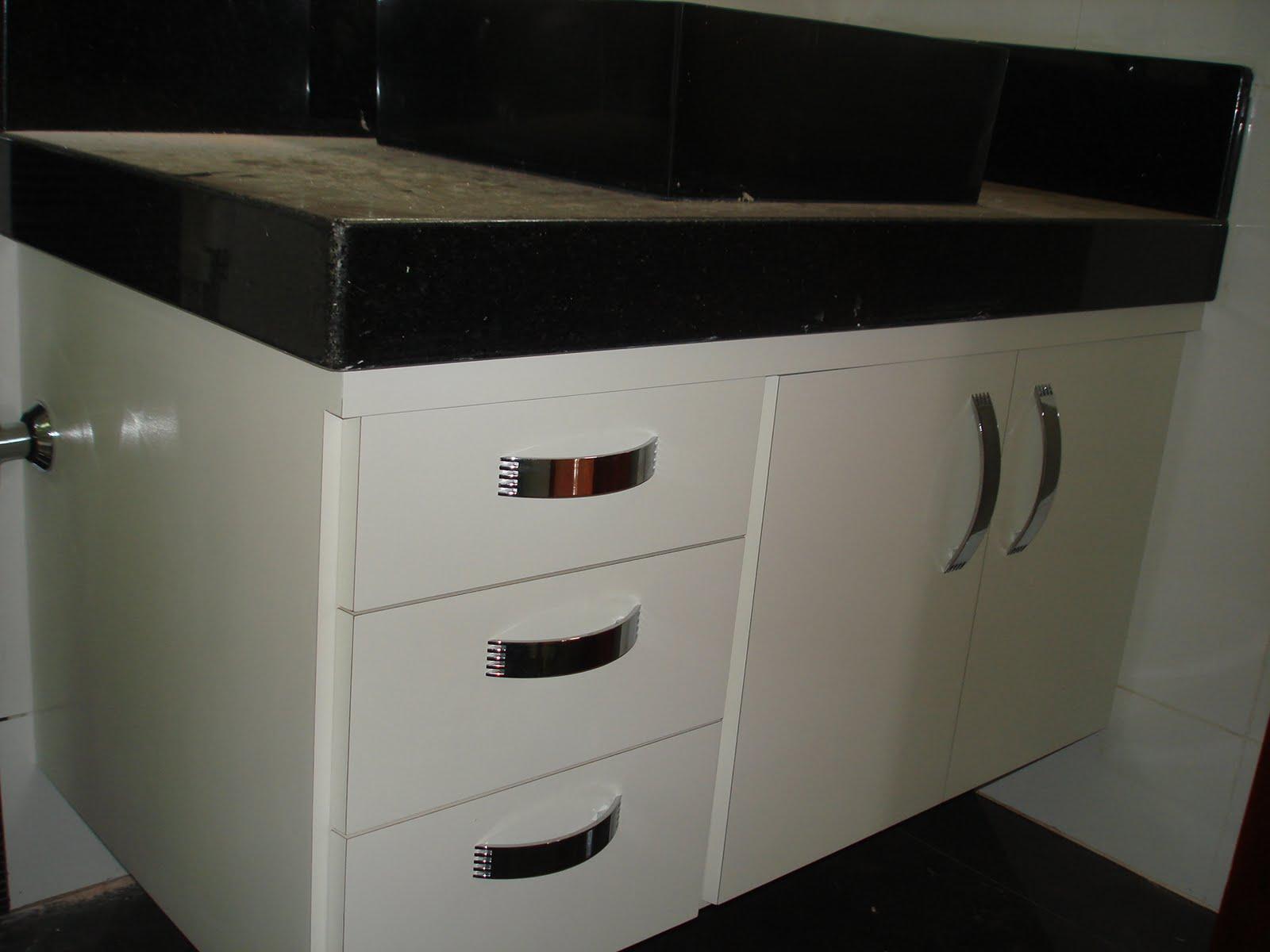 Marcenaria Taiobeiras LTDA: Gabinete para banheiro #575141 1600 1200