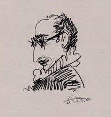 Retrat de Josep Palau i Fabre, Picasso, 1968